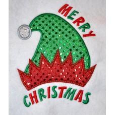 Christmas Elf Hat Applique