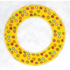 FREE Circle Applique Frame Design