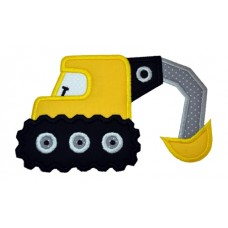 Backhoe Construction Applique