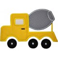 Cement Concrete Truck Construction Applique