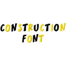 Construction Font