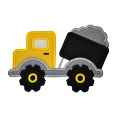 Dump Truck Construction Applique
