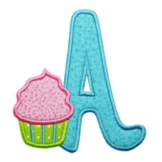 Cupcake Applique Font