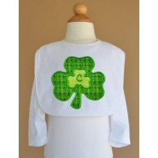 Double Shamrock Applique Monogram