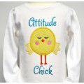 Attitude Chick Applique