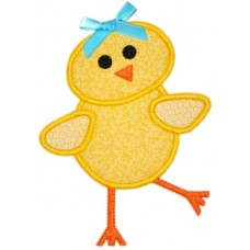 Sassy Spring Chick Applique