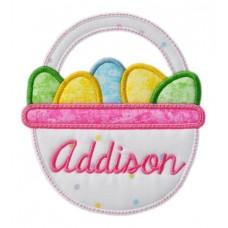 Easter Basket Applique