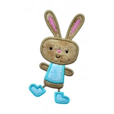 Happy Dance Bunny Boy Applique
