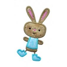 Happy Dance Bunny Boy Applique