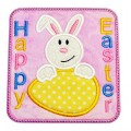 Bunny Egg Peeker Applique