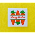 Split Easter Carrots Applique