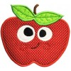 Silly Sweet Apple Applique