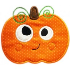 Silly Sweet Pumpkin Applique