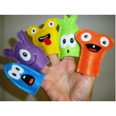 Monster Finger Puppets 1