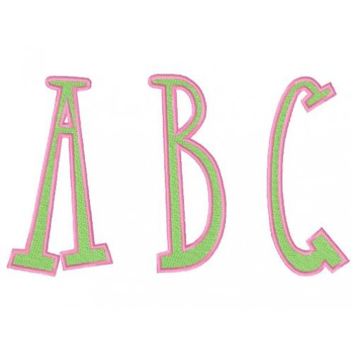 FREE Fun N Funky Embroidery Font