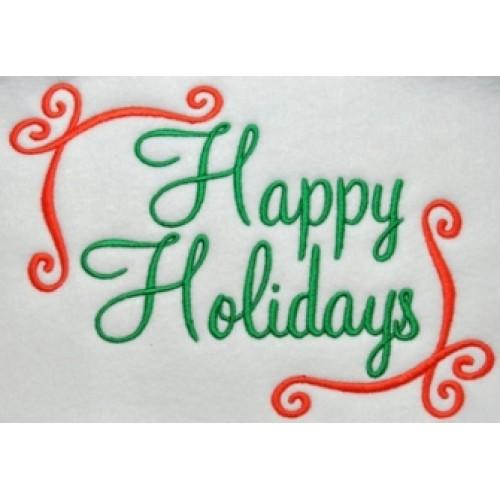 Happy Holidays Freebie