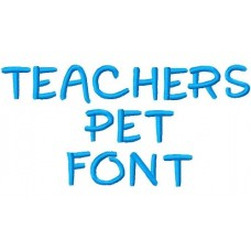 FREE - Teachers Pet Font