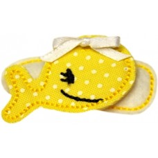 Fun Felts Whale Barette Snap Clip Covers