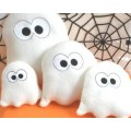 Ghost Snugglies Toys with Matching Applique