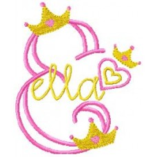 Girly Princess - Monogram Font 16
