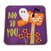 Halloween Ghost Mailbox Applique