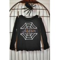 Split Spider Web Applique