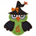 Witch Owl Monogram