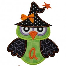 Witch Owl Monogram