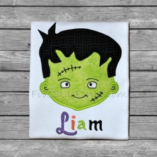 Adorable Frankenstein Applique