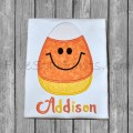 Smiley Sweet Candy Corn Applique