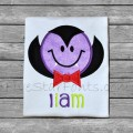 Sweet Smiley Dracula Applique