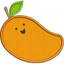Happy Fruit Mango Applique
