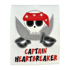 Heartbreaker Skull Applique
