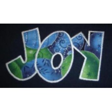 Exclusive JOY Double Applique