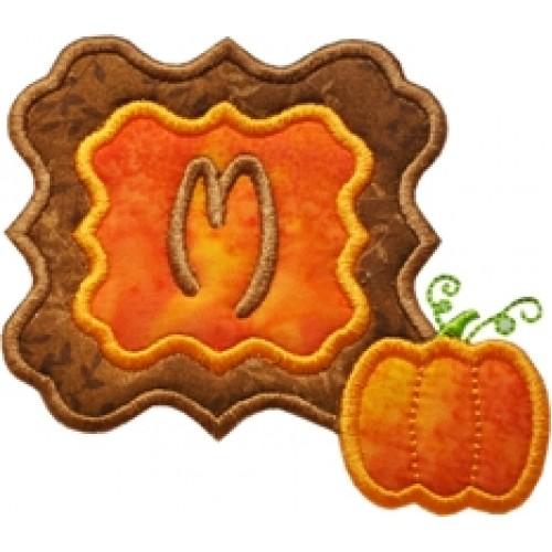 Pumpkin Frame Monogram Font