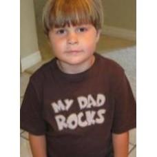 Exclusive MY DAD ROCKS Double Applique