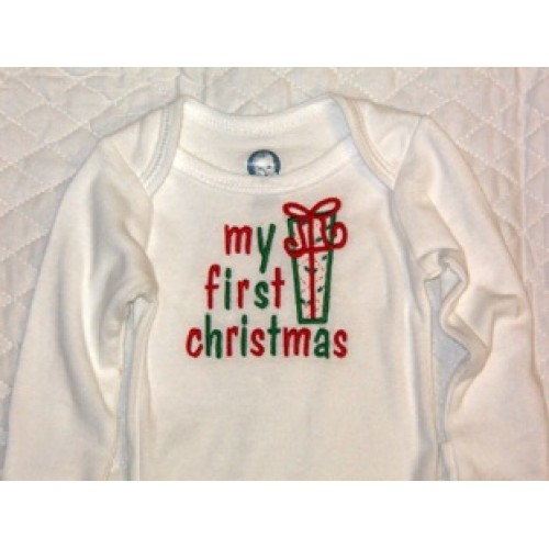 Christmas Embroidery Patterns Free.Free My First Christmas