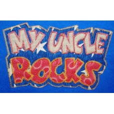 Exclusive MY UNCLE ROCKS Double Applique