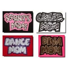 Exclusive SPORTS, DIVA, CHEER & DANCE MOM Appliques