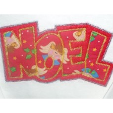 Exclusive NOEL Double Applique