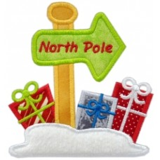 North Pole Applique
