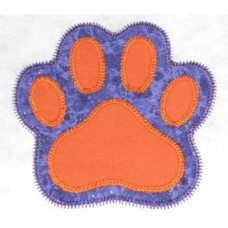 FREE Paw Print Double Applique Design