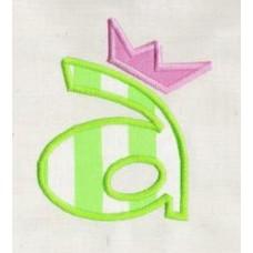 Precious Crown Applique Font