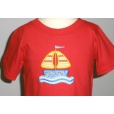Ric Rac Sailboat Applique
