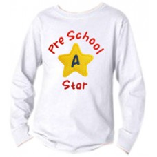 School Star Applique Monogram