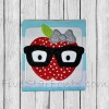 Adorkable Apple Applique