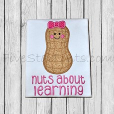 Peanut Girl Applique