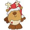 Silly Chubby Reindeer Design Set