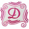 Splendid Swirls Monogram