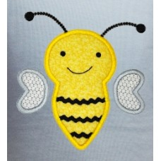 Silly Ric Rac Bee Applique